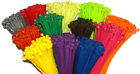 USA Made Cable Ties/Tie Wraps/ Zip Ties 7.56' 50lb 100 Pack Mil-Spec Pick Color