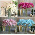 7 Heads Artificial Butterfly Orchid Flower Home Wedding Garden Decor Hydrangea
