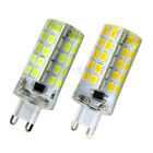 1/10x G9 7W 80-5730 SMD LED Light Bulb Dimmable Silicone Crystal Lamp 110-240V E