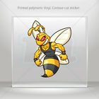 Stickers Decal Bee Hornet Wasp Guardian Atv Bike Garage bike st5 XR355