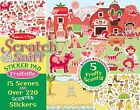 New Melissa & Doug Scratch & Sniff Sticker Pad Scented Stickers