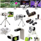 US 12x 18x 65x 8x 100x Microcope Telescope Camera Lens For Universal...