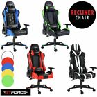 GTFORCE PRO SERIES RECLINING SPORTS RACING GAMING OFFICE DESK CAR LEATHER CHAIR