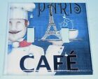Chef Paris LIGHT SWITCH OR OUTLET COVERS HANDMADE CAFE Kitchen French