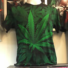 Green Herb T-Shirt Black Biker Mens Womens 100% Cotton Rock Eagle Thai Brand