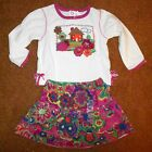 CHILDRENS' PLACE TOP & SKIRT SET  BRAND NEW, WITH TAGS SIZE 6-9M