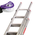 Triple Section Extension Ladders DIY Ladders With Paint Mate Tool