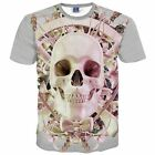 Round Neck Short Sleeve Fashion Hedging High Quality Men T-shirt Youth Pop