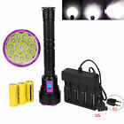 30000LM 12x XML T6 LED Taschenlampe Tauchlampe Scuba Diving bis 100M 26650/18650