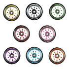 Alloy 100m Stunt Scooter Wheels + ABEC9 by TBF // Colour Choice Smooth Durable
