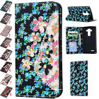 Magnetic Flip Painted Leather Slot Wallet Cover Case For Various Phone Protector