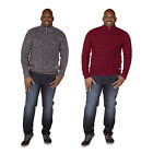 Duke D555 King Size Knitted Jumper Mens Lower Pocket Half Zipper Winter Sweater