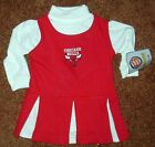 CHICAGO BULLS CHEER LEADING OUTFIT, SIZE 6-9M, NEW WITH TAGS!  FREE SHIPPING!