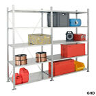 Galvanised Heavy Duty Shelving Racking All Steel Cold Room Catering Rack BiGDUG