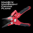 Madbite Night Fishing Pliers Line Cutter Hook Remover Tackle with LED Light
