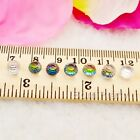 10Pcs/set 5mm Crystal Mini Nail Art Studs For UV Gel 3D Nail Art Decoration