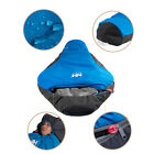 0 Centigrade Sleeping Bag Mummy Cold Weather Outdoor Camping w/ Carrying Bag New