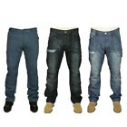 MENS NEW ENZO STRAIGHT LEG JEANS IN LIGHT WASH & DARK WASH COLOURS RRP £24.99