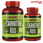 L-Carnitine 600 60-270 Capsules Weight Loss Slimming Pills Fat Burner Reduction