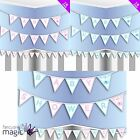 Baby Shower Flag Pennant Bunting Garland Partyware Party Banner Decorations 3m