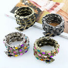 Charm Women Girl's Multilayer Snake Shaped Bracelet Bangle New Fashion Jewelry