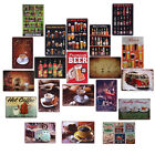 Coffee Pub BarMetal Tin Signs Vintage Plaque Club Wall Decor Home Shop Poster