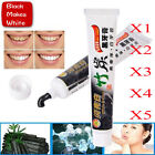 5Pcs Whitening Toothpaste Bamboo Charcoal Teeth Black Removes Stains Bad Breath