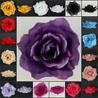 LARGE ARTIFICIAL SILK FLOWER ROSE WEDDING CAKE TOPPER PARTY DECOR CRAFT/13CM