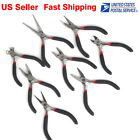 Mini Jewelry Making Tools Set Pliers Cutter Round Flat Wire