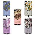 Personalised Custom Floral Phone Case/Cover for Nokia SmartPhone Initial/Name