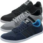 Adidas Adilago Low Herren Sneakers schwarz/grau/blau low-top Wildleder NEU