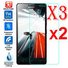 3Pcs 9H Premium Tempered Glass Film Screen Protector Cover For Lenovo Cell Phone