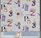 Sunlover THERMAL BLACKOUT Roller Blinds. Childrens Alphabet. Widths 60cm -180cm