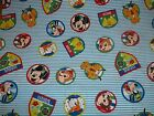 Fun Friends Mickey Pluto  CP59657 Disney Springs Sewing Quilting Cotton Fabric