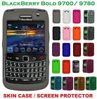 AMZER Jelly Skin Luxe Argyle Gel Silicone Case For BlackBerry Bold 9700 9780 UK
