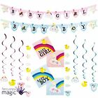 New Arrival Baby Shower Its A Boy Girl Gender Reveal Party Partyware Decorations