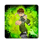 Ben 10 #1 - Oversized Rubber Coasters Set of 4 or 6