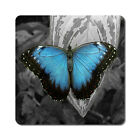 Butterfly / Butterflies 1 - Oversized Rubber Coasters Set of 4 or 6