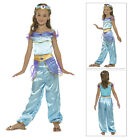 Smiffys Kids Arabian Princess Fancy Dress Girls Fairytale Book Week Costume