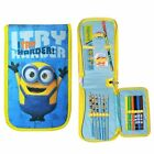 Minions 3D Tri Fold Rempli Pencil Case