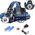 6000LM LED Headlamp 18650 Rechargeable Headlight 3Modes Camping Head Lamp