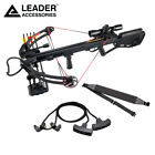 Leader Accessories Crossbow Package 150lbs Archery Hunting Bow w Quiver,Arrows