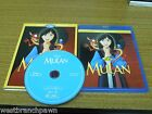 Mulan (1998) Like New Blu-ray with SLIPCOVER! Walt Disney