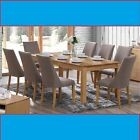 DEW  DINING TABLE ONLY OR 7 PIECE DINING SETTING - 1800L TABLE WITH 6 CHAIRS