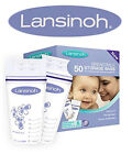 Lansinoh Milk Bags Breastmilk Storage Pouches Zip Closure 180 ml 25/50 Bags
