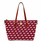 Dooney & Bourke NCAA Virginia Tech Zip Top Shopper