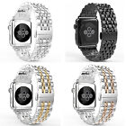 NEW STAINLESS STEEL STRAP BAND WATCHBAND BUCKLE FOR APPLE WATCH 38MM 42MM CLASSY