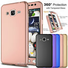 Samsung Galaxy J3 Sky 360° Protective Situation Cover+Tempered Glass Screen Protector