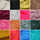 Plain 21 Wale Soft Cotton Corduroy Needlecord Dress Fabric 140cm Wide (JL)