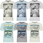 South Shore Mens Westland Or Marty Print Crew Neck Retro T Shirt WAS £16 NOW £7